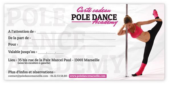 Carte Cadeau Pour Un Cours De Pole Dance Pole Dance Marseille